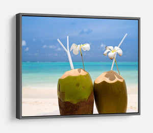 Tropical Coconut Cocktail HD Metal Print - Canvas Art Rocks - 9