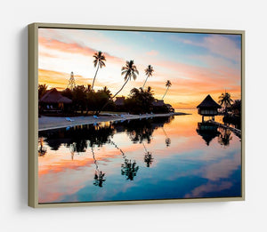 Tropical Sunset at Moorea HD Metal Print - Canvas Art Rocks - 8