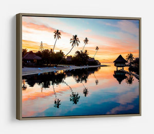 Tropical Sunset at Moorea HD Metal Print - Canvas Art Rocks - 10
