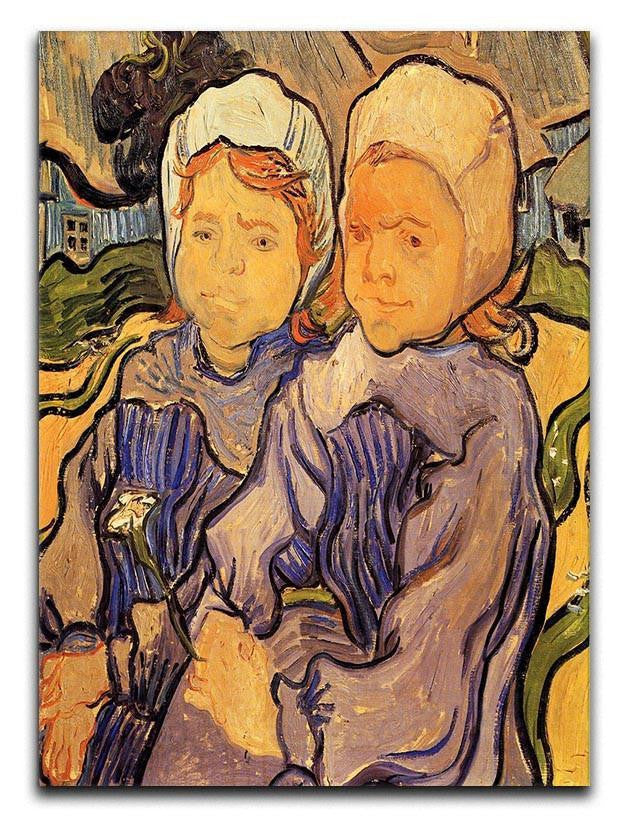 Two Children by Van Gogh Canvas Print or Poster