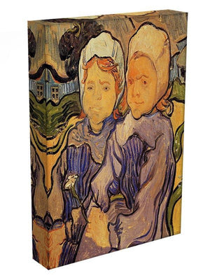 Two Children by Van Gogh Canvas Print & Poster - Canvas Art Rocks - 3