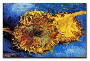 Two Cut Sunflowers 3 by Van Gogh Canvas Print & Poster  - Canvas Art Rocks - 1