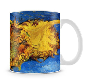 Two Cut Sunflowers 3 by Van Gogh Mug - Canvas Art Rocks - 4