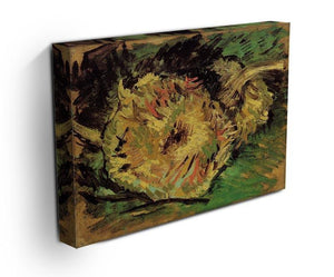 Two Cut Sunflowers by Van Gogh Canvas Print & Poster - Canvas Art Rocks - 3