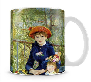 Two Sisters On The Terrace by Renoir Mug - Canvas Art Rocks - 1
