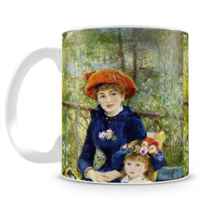 Two Sisters On The Terrace by Renoir Mug - Canvas Art Rocks - 2