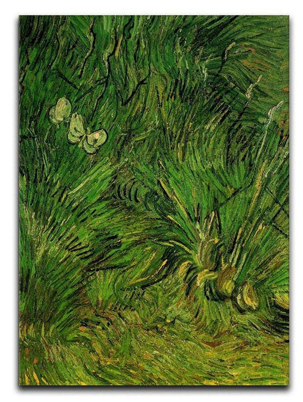 Two White Butterflies by Van Gogh Canvas Print & Poster  - Canvas Art Rocks - 1