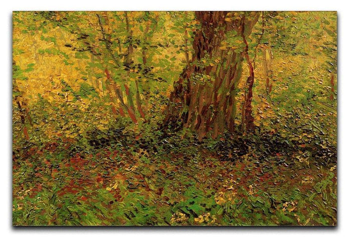 Undergrowth 2 by Van Gogh Canvas Print or Poster