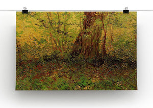 Undergrowth 2 by Van Gogh Canvas Print & Poster - Canvas Art Rocks - 2