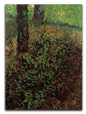Undergrowth by Van Gogh Canvas Print & Poster  - Canvas Art Rocks - 1