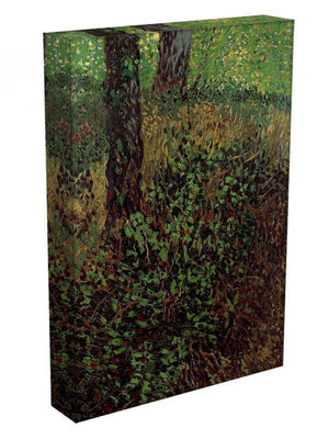 Undergrowth by Van Gogh Canvas Print & Poster - Canvas Art Rocks - 3