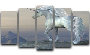 Unicorn Bluff 5 Split Panel Canvas  - Canvas Art Rocks - 1
