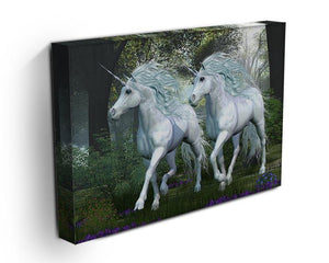 Unicorn Elm Forest Canvas Print or Poster - Canvas Art Rocks - 3
