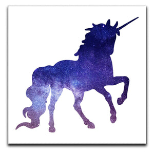 Unicorn Galaxy Canvas Print or Poster - Canvas Art Rocks