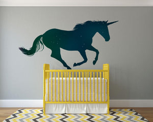 Unicorn Wall Decal - Canvas Art Rocks - 1
