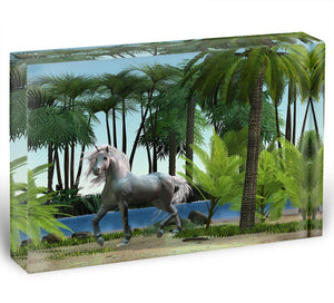 Unicorn buck prances Acrylic Block - Canvas Art Rocks - 1