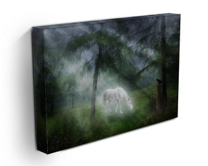 Unicorn in a magical forest Canvas Print or Poster - Canvas Art Rocks - 3