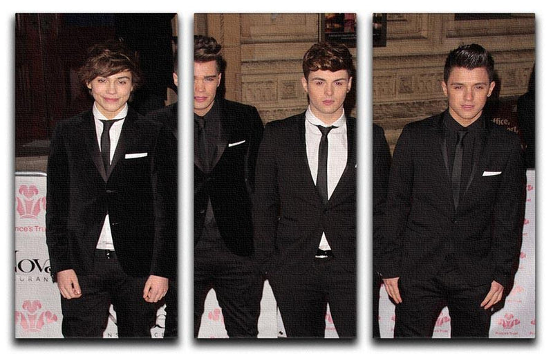 Union J 3 Split Panel Canvas Print - Canvas Art Rocks - 1