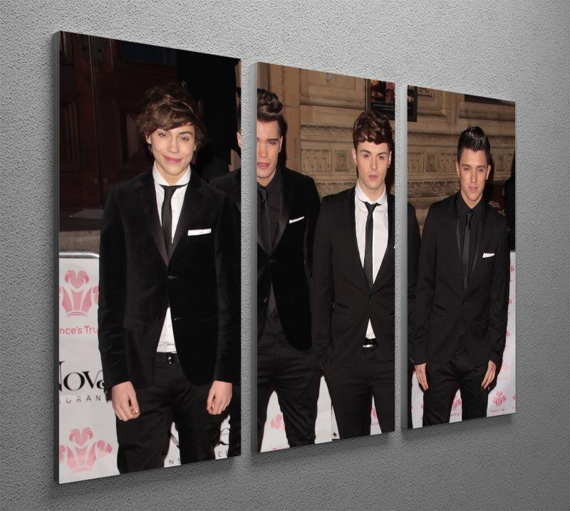 Union J 3 Split Panel Canvas Print - Canvas Art Rocks - 2