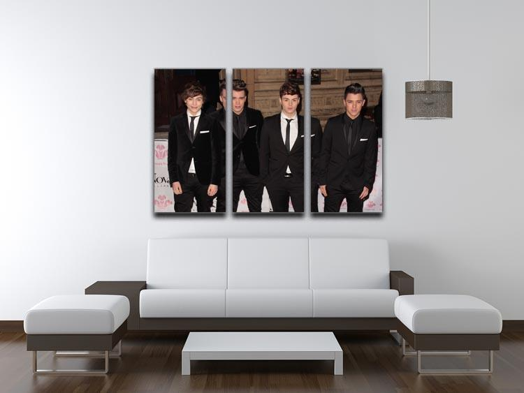 Union J 3 Split Panel Canvas Print - Canvas Art Rocks - 3