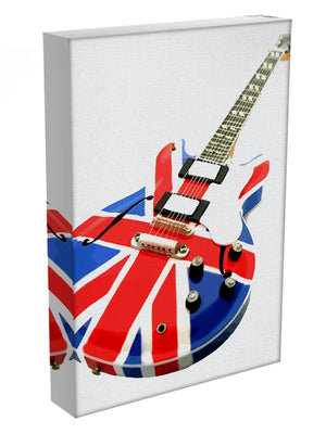 Union Jack Guitar Canvas Print or Poster