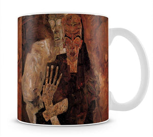 Unlicensed or even death and man by Egon Schiele Mug - Canvas Art Rocks - 1