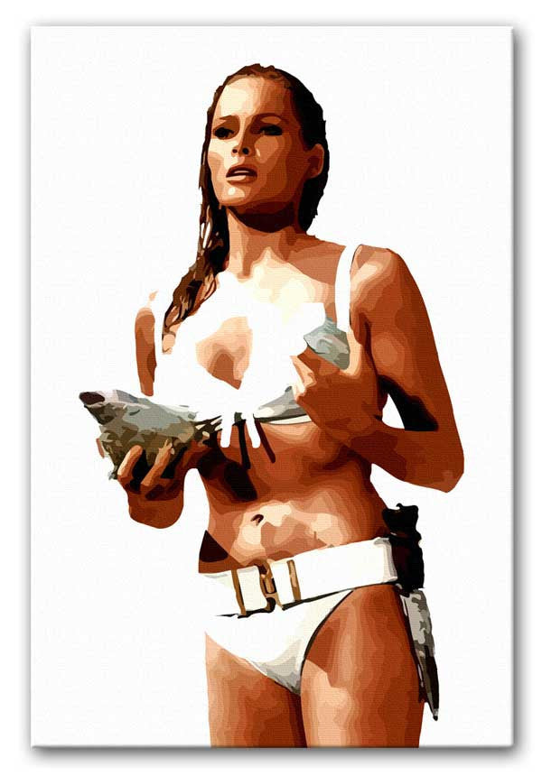 "Ursula Andress ""Honey Ryder"" Canvas Print or Poster"
