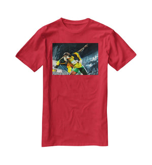 Usian Bolt Iconic Pose T-Shirt - Canvas Art Rocks - 4