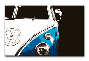 VW Camper Print - Canvas Art Rocks - 5