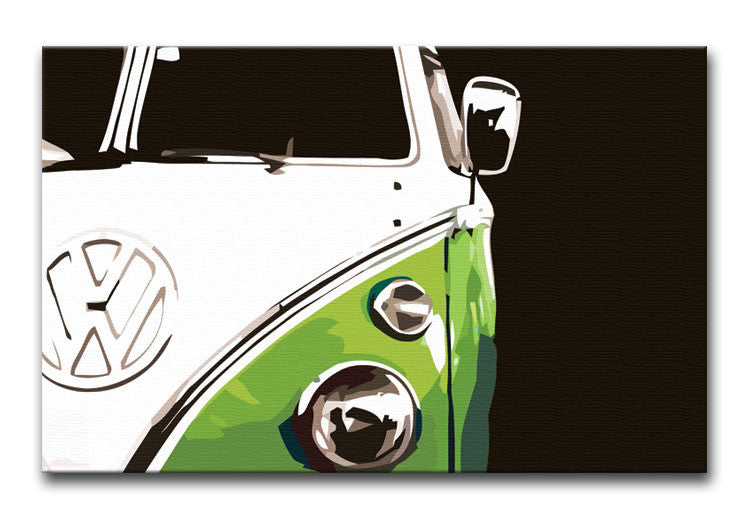 VW Camper Print - Canvas Art Rocks - 6
