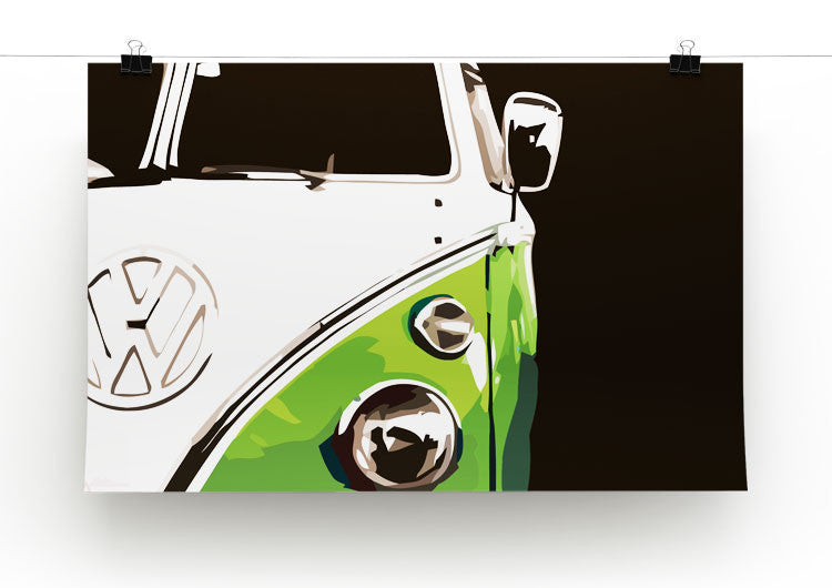 VW Camper Print - Canvas Art Rocks - 4