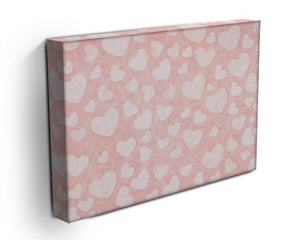 Valentine Heart pink Canvas Print or Poster - Canvas Art Rocks - 3
