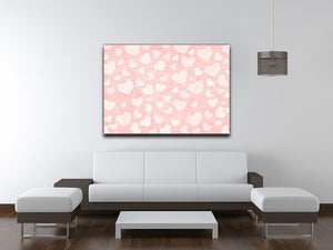 Valentine Heart pink Canvas Print or Poster - Canvas Art Rocks - 4