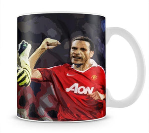 Van Der Sar And Rio Ferdinand Mug - Canvas Art Rocks - 1
