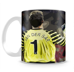 Van Der Sar And Rio Ferdinand Mug - Canvas Art Rocks - 2