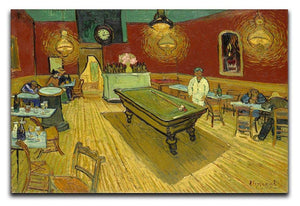 Van Gogh Night Cafe Canvas Print & Poster  - Canvas Art Rocks - 1