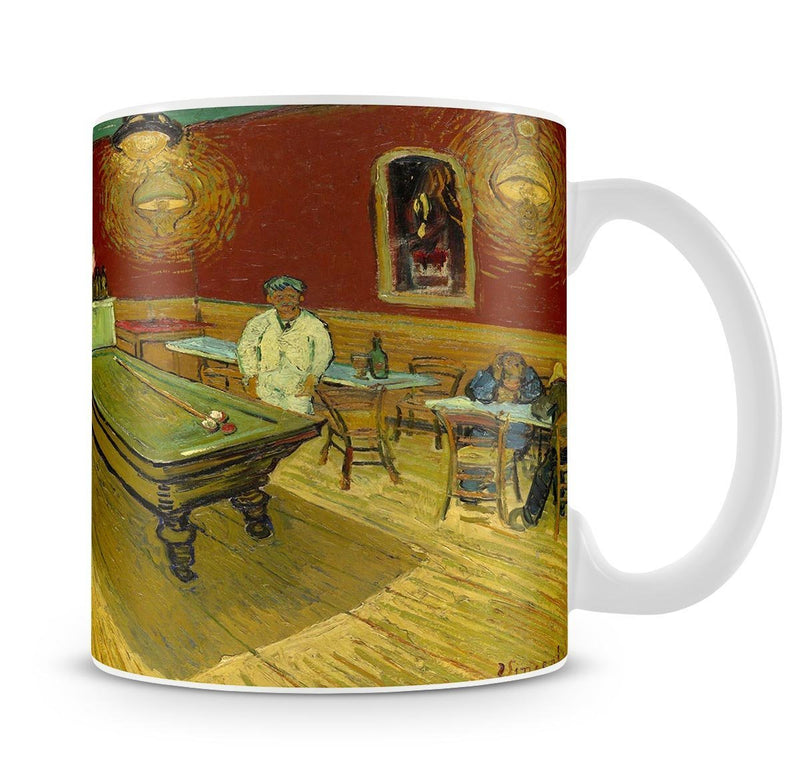 Van Gogh Night Cafe Cup - Canvas Art Rocks - 4