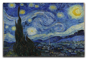 Van Gogh Starry Night Canvas Print & Poster  - Canvas Art Rocks - 1