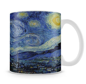 Van Gogh Starry Night Mug - Canvas Art Rocks - 1