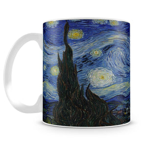 Van Gogh Starry Night Mug - Canvas Art Rocks - 2