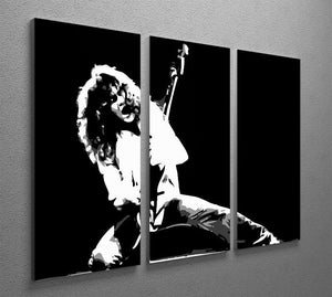 Van Halen 3 Split Panel Canvas Print - Canvas Art Rocks - 2