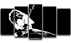 Van Halen 5 Split Panel Canvas  - Canvas Art Rocks - 1