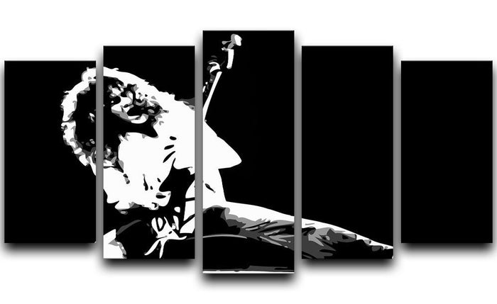 Van Halen 5 Split Panel Canvas