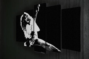 Van Halen 5 Split Panel Canvas - Canvas Art Rocks - 2