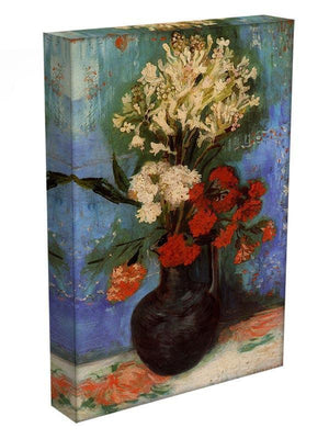 Vase with Carnations and Other Flowers by Van Gogh Canvas Print & Poster - Canvas Art Rocks - 3