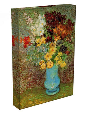 Vase with Daisies and Anemones by Van Gogh Canvas Print & Poster - Canvas Art Rocks - 3