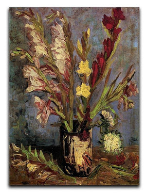 Vase with Gladioli 4 by Van Gogh Canvas Print & Poster  - Canvas Art Rocks - 1