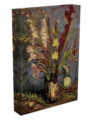 Vase with Gladioli 4 by Van Gogh Canvas Print & Poster - Canvas Art Rocks - 3