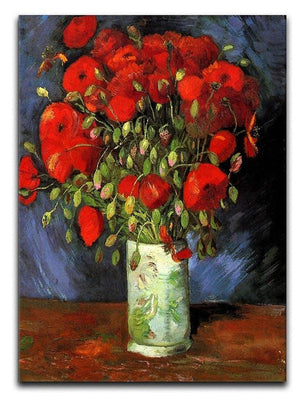 Vase with Red Poppies by Van Gogh Canvas Print & Poster  - Canvas Art Rocks - 1