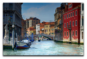 Venice In Italy Print - Canvas Art Rocks - 1
